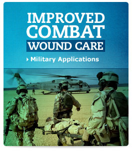 Better combat wound care